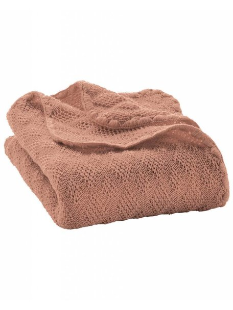 Disana Baby deken van wol - roze