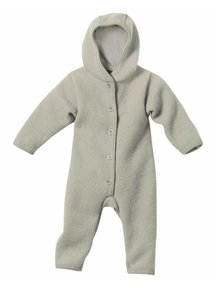 Disana Overall Boiled Wool - grey
