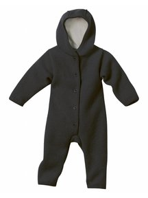 Disana Overall Boiled Wool - anthracite