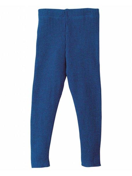 Disana legging van wol - donkerblauw