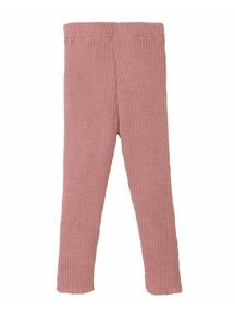 Disana Wollen legging - oud roze
