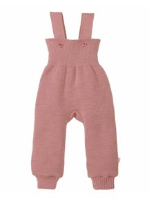 Disana Knitted Dungarees - rose