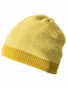 Disana Muts van wol gemêleerd - geel