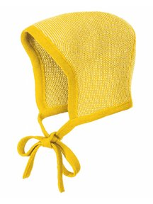 Disana Bonnet Merino Wool - curry