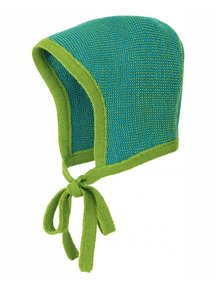 Disana Bonnet Merino Wool - green