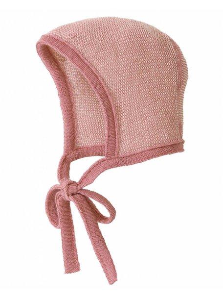 Disana Bonnet Merino Wool - rose