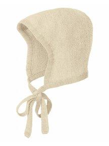 Disana Bonnet Merino Wool - natural