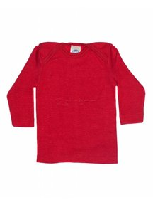 Cosilana Shirt van wol/zijde - rood
