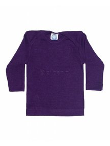 Cosilana Baby Shirt Wool / Silk - purple