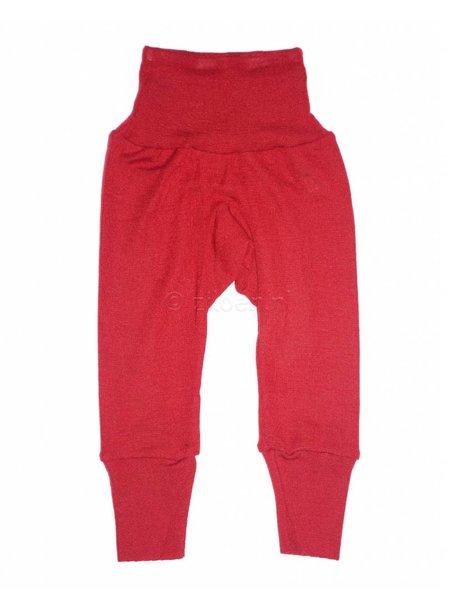 Cosilana Broekje van wol/zijde - rood