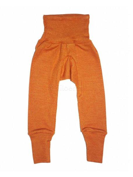 Cosilana Broekje van wol/zijde - oranje