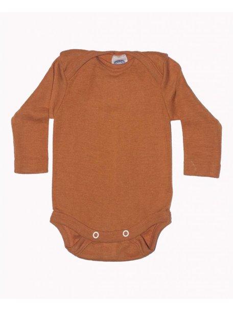 Cosilana Romper van wol/zijde - oranje