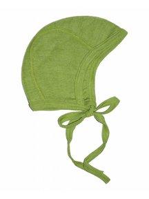 Cosilana Baby Bonnet Wool / Silk - green