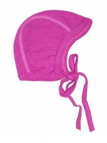 Cosilana Baby Bonnet Wool / Silk - pink
