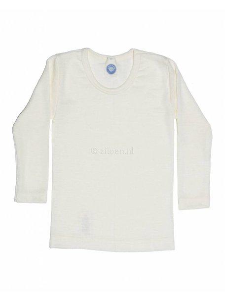 Cosilana Kindershirt van wol/zijde - naturel