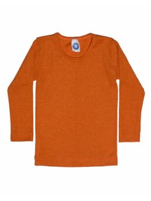 Cosilana Kids Longsleeve Wool / Silk - orange