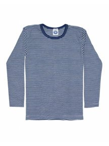 Cosilana Kids Longsleeve / Silk Striped - Blue