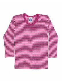 Cosilana Kids Longsleeve / Silk Striped - pink