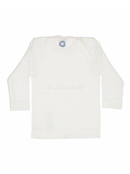 Cosilana Shirt van wol/zijde/katoen - naturel