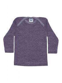 Cosilana Baby Top Wool/Silk/Cotton - purple