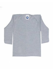 Cosilana Baby Top Wool/Silk/Cotton - Grey