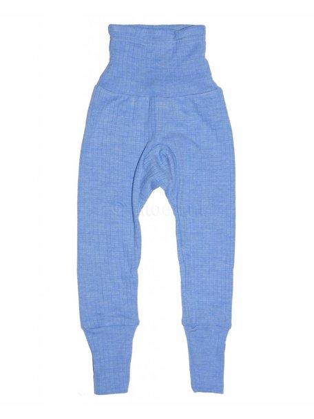 Cosilana Broekje van wol/zijde/katoen - blauw