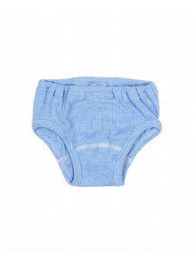 Cosilana Onderbroek van wol/zijde/katoen - blauw