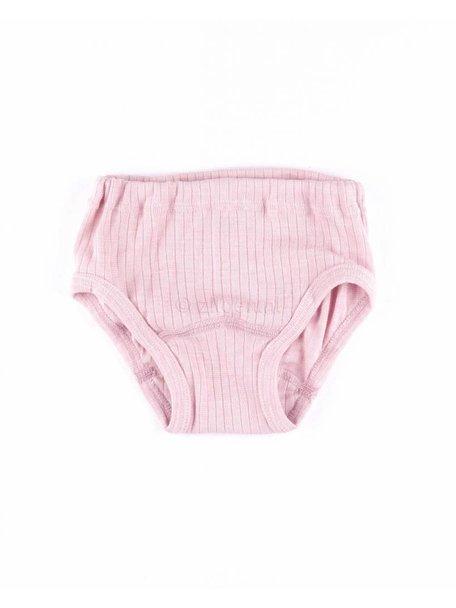 Cosilana Onderbroek van wol/zijde/katoen - roze
