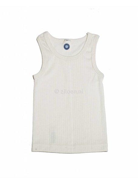 Cosilana Kinderhemd van wol/zijde/katoen - naturel