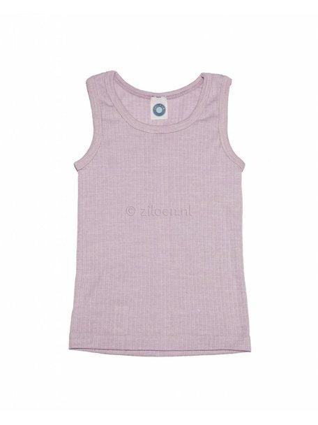 Cosilana Kinderhemd van wol/zijde/katoen - roze