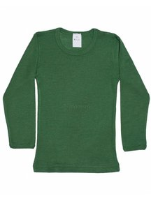 Hocosa Kids Shirt Wool/Silk - green