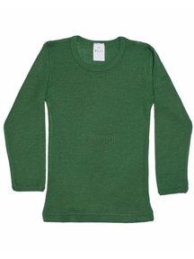 Hocosa Shirt kind wol/zijde - groen