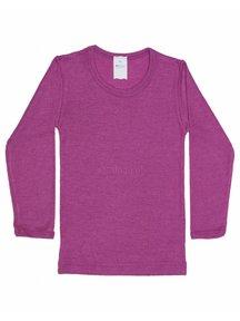 Hocosa Shirt kind wol/zijde - roze