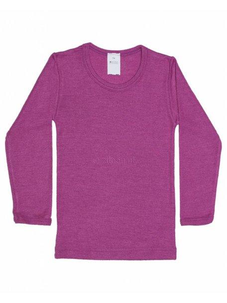 Hocosa Kids Shirt Wool/Silk - pink