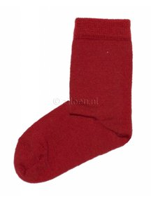 Grödo Sokken van wol - rood