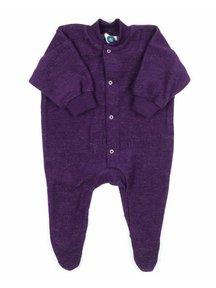 Cosilana Pyjamas With Feet - purple