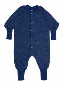 Cosilana Pyjamapak van wol - blauw