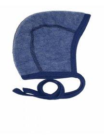 Cosilana Bonnet Wool Fleece - blue