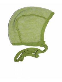 Cosilana Bonnet Wool Fleece - green