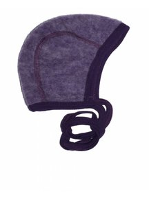Cosilana Bonnet Wool Fleece - purple