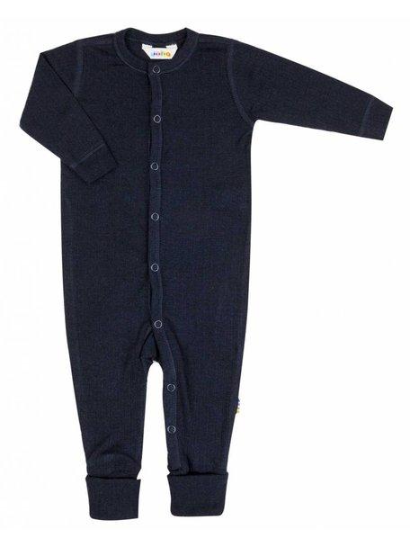 Joha Wollen jumpsuit - donkerblauw