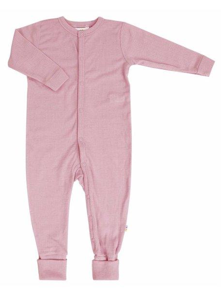 Joha Wollen jumpsuit - roze