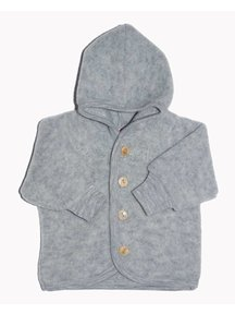 Engel Natur Jacket Wool Fleece - grey