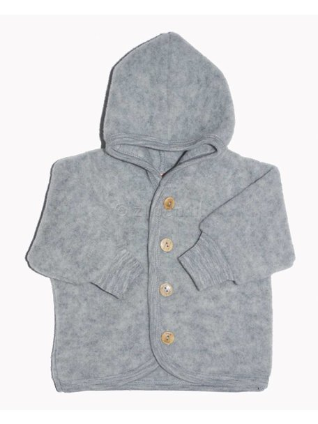 Engel Natur Jacket Wool Fleece - grey