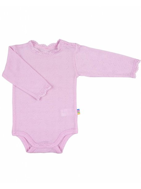 Joha Rompertje wol/zijde ajour - roze