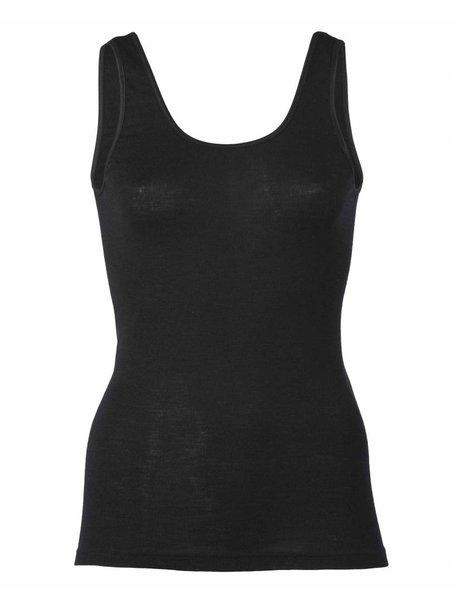 Engel Natur Hemd voor dames wol/zijde - zwart