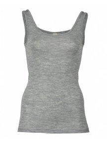 Engel Natur Hemd voor dames wol/zijde - grijs
