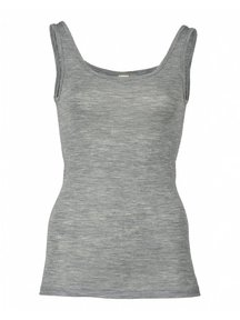 Engel Natur Sleeveless Vest Ladies - grey