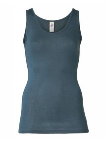 Engel Natur Sleeveless Vest Ladies - atlantic