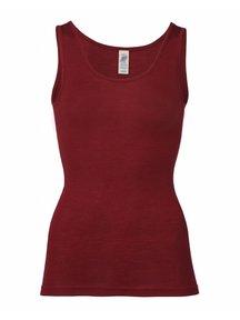 Engel Natur Hemd voor dames wol/zijde - rood